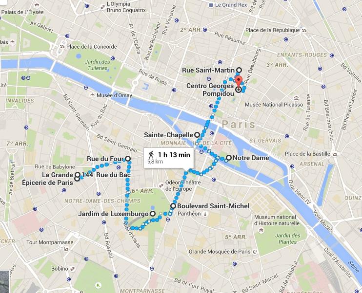 Paris a pé2